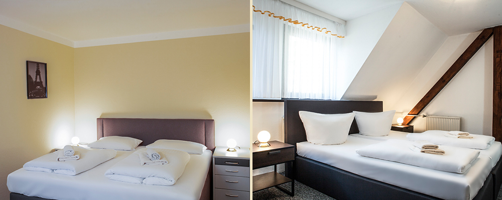 Doppelzimmer & Apartment